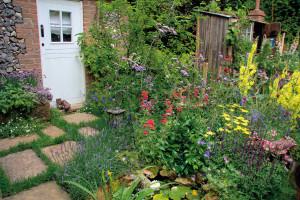 Pohoda venkovské zahrady