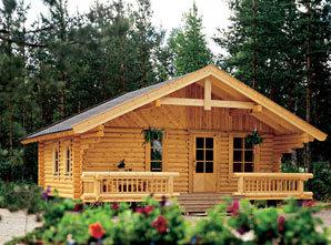 Ze dřeva se snadno a rychle staví, snadno se opracovává a jeho hmotnost je hlavně u konstrukce stropů či krovů ideální. Dřevo hezky působí na pohled, je příjemné na dotyk a má dobré akustické vlastnosti.