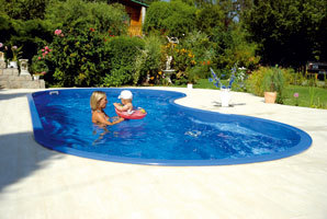 Sklolaminátové bazény calypso cena
