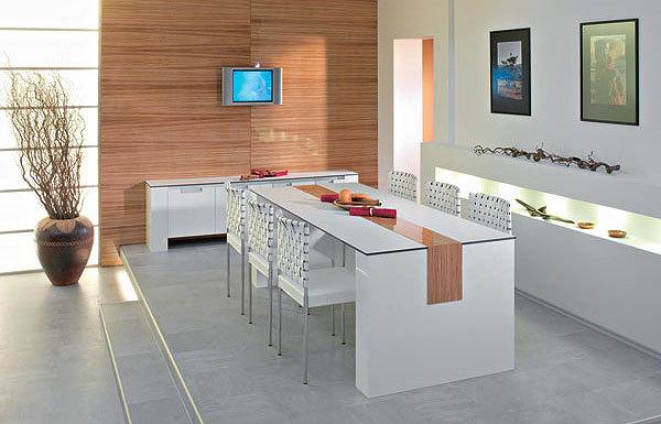 I jídelní stůl a židle podléhají módním trendům. Dnes se ani zdaleka nemusíte přidržovat jen klasiky – dřeva. Při výběru je důležitá také velikost a tvar – velikost by měla vyhovovat jak počtu stolujících, tak rozměrům místnosti, pro více lidí je vhodnější stůl ve tvaru obdélníku.