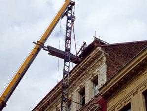Rekonstrukce střechy povolení