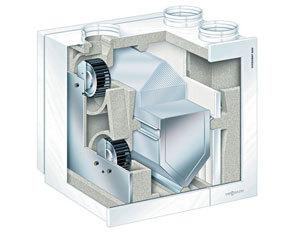 Kompletní systém na větrání se zpětným získáváním tepla pro domy a byty s plochou do 180 m2