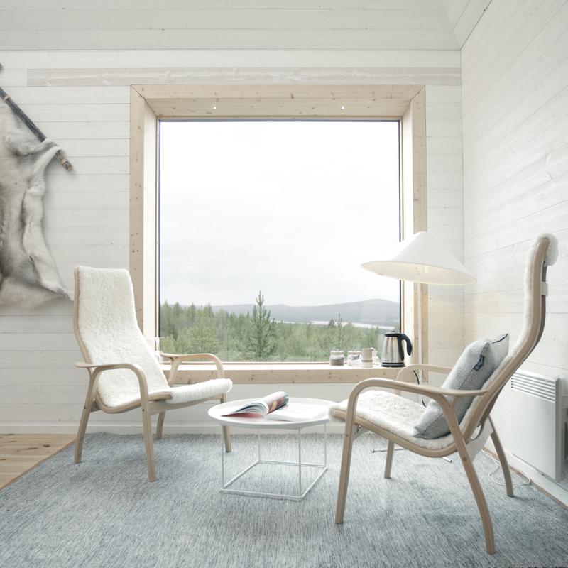 interiér dřevěného domu