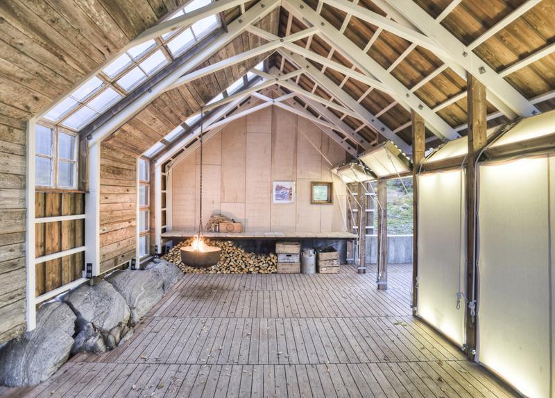 interiér letního domku