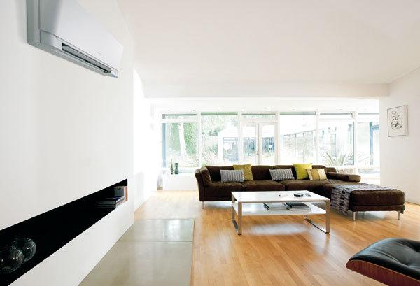 Klimatizování a větrání interiéru