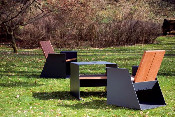Dřevo a nábytek v exteriérech