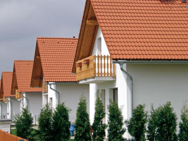 Krytina dělá střechu