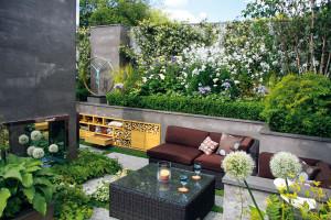Zahrada jako stvořená pro párty