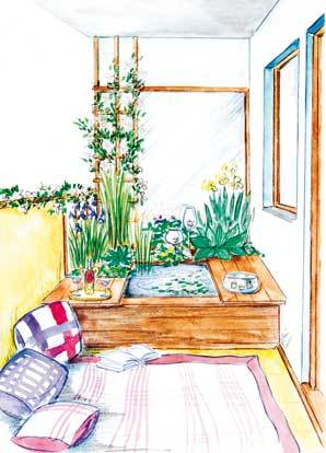 Proměnte svůj balkon ve visutou minizahrádku