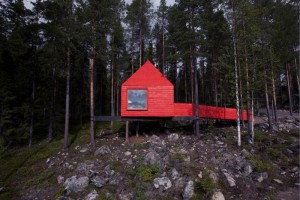 Dům z pohádky o Červené Karkulce