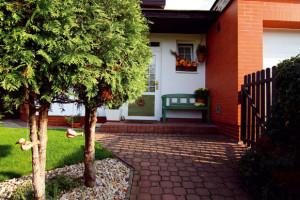 Malá rodinná zahrada v klidné čtvrti