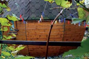 Jak se žije v dřevěné kouli