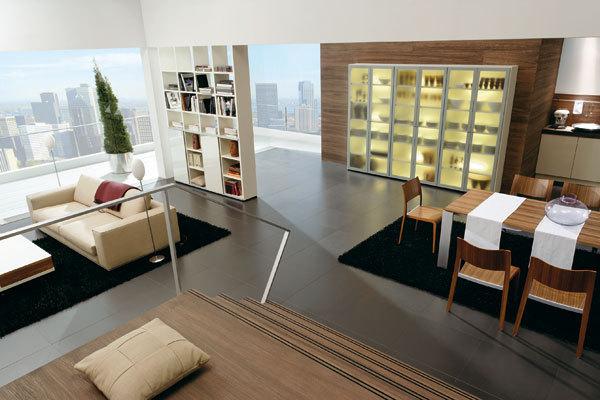 Jak se tvoří flexibilní prostor v bytě