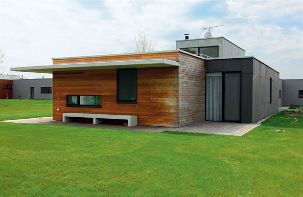 Montovaný dům nedaleko slovenských hranic