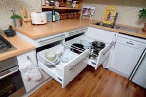 Malá kuchyň na velké delikatesy