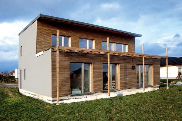 Izolace pasivních a nízkoenergetických domů