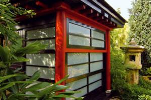 Návštěva v japonské zahradě