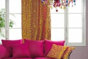 Oblékání interiéru do textilu