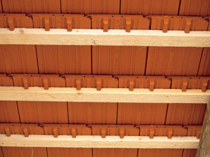 Slabiny šikmých střech