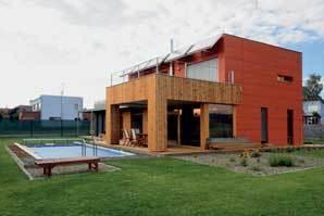 Dům v duchu evropské dřevostavby