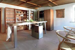 Svobodná kuchyň na ostrově