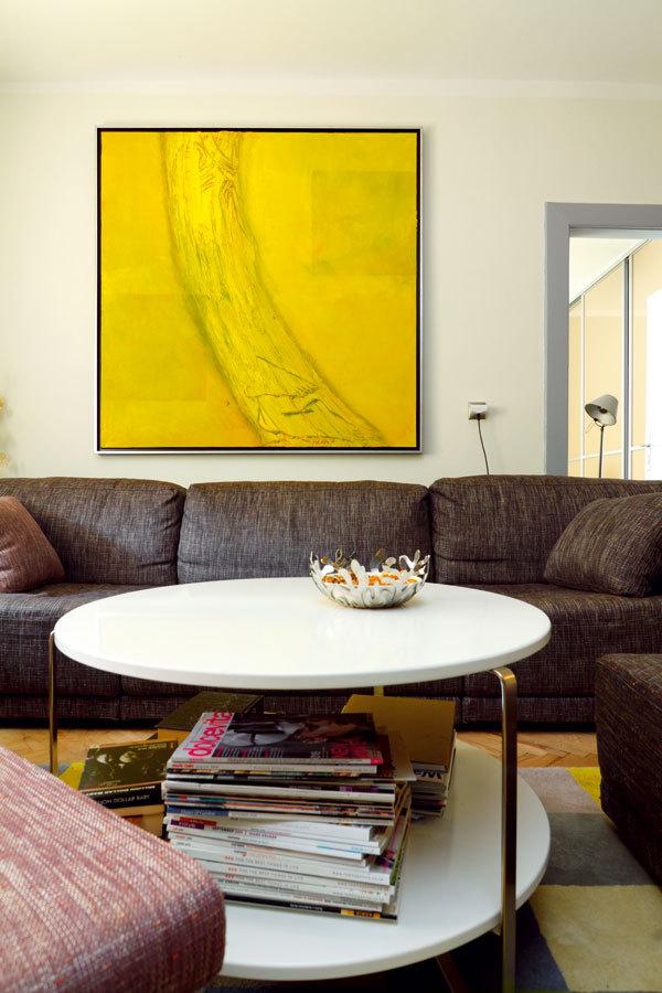 Vzájemnosti barev v bytě