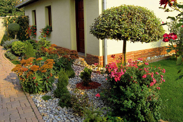 Půvabná venkovská zahrada