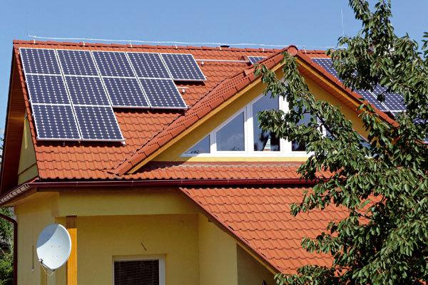 Fotovoltaické elektrárny na střechách rodinných domů
