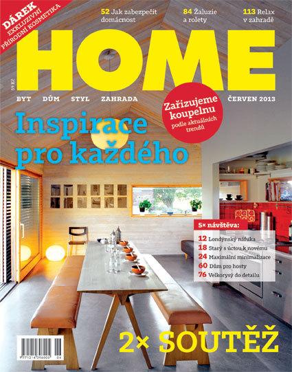 Časopis HOME 6/2013 v prodeji od úterý 18. června i s dárkem!