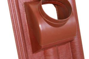 KM BETA rozšířila řadu betonových střešních doplňků představením tašky odkouření turbo kotle
