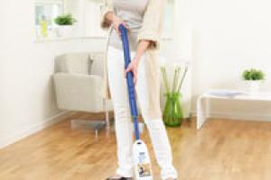 Jednoduché a pohodlné čištění dřevěných podlah