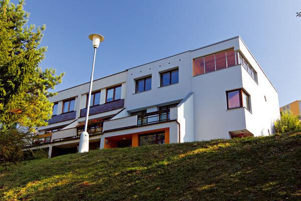 Elegantní přístavba rodinného domu v Brne