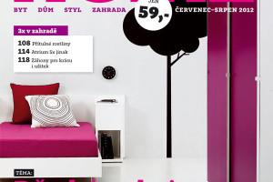 Letní vydání dvojčísla časopisu HOME 7–8/2012 v prodeji