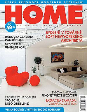 HOME byt/dům/styl/zahrada 1–2 2010 v prodeji