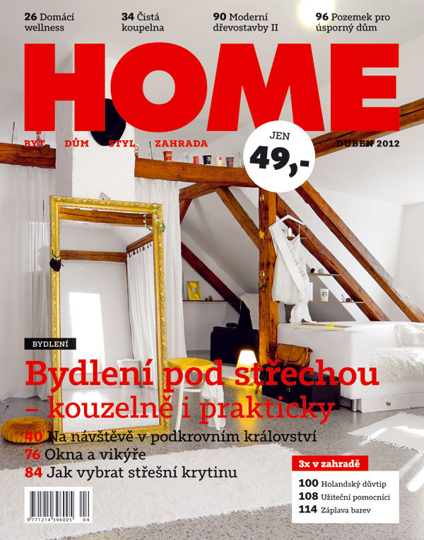 Časopis HOME 04/2012 v prodeji