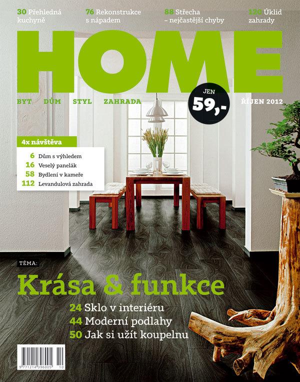 Časopis HOME říjen 2012 v prodeji