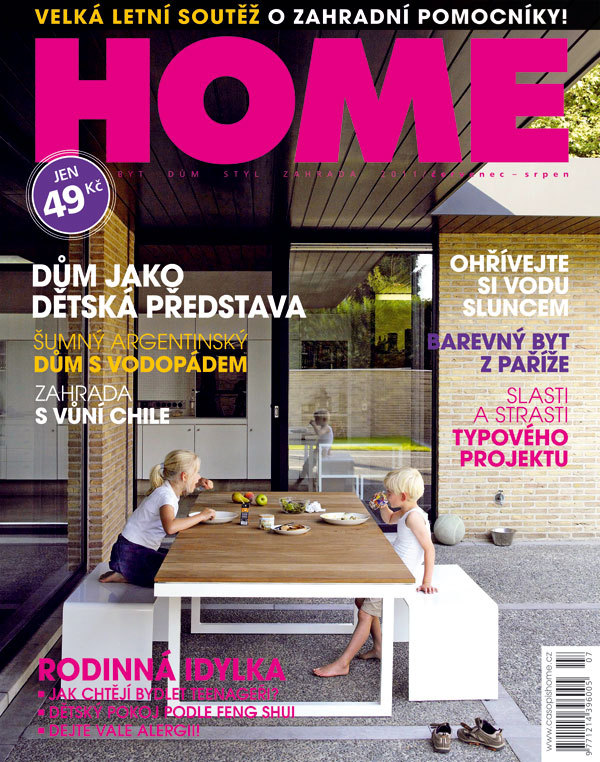 Letní dvojčíslo časopisu HOME v prodeji