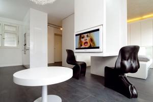 Nápaditě zrekonstruovaný malý byt