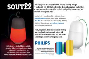 Vyhrajte jedno ze tří večírkových svítidel značky Philips v hodnotě 5 445 Kč