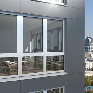 Celosvětově první okenní profil z hliníku s certifikátem pro pasivní výstavbu Schüco AWS 112.IC