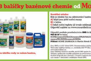 Výherci soutěže o 3 balíčky bazénové chemie od Mountfield
