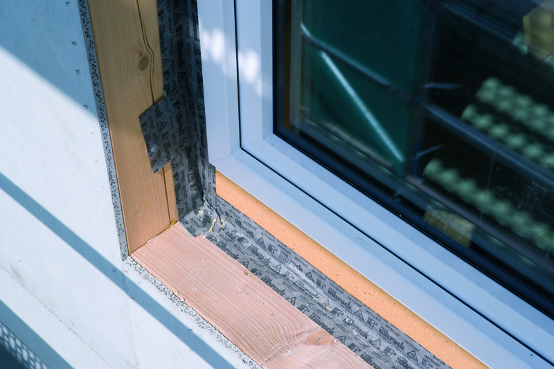 RAL montáž okna
