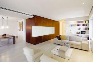Rekonstrukce bytu ve stylu japonského minimalismu