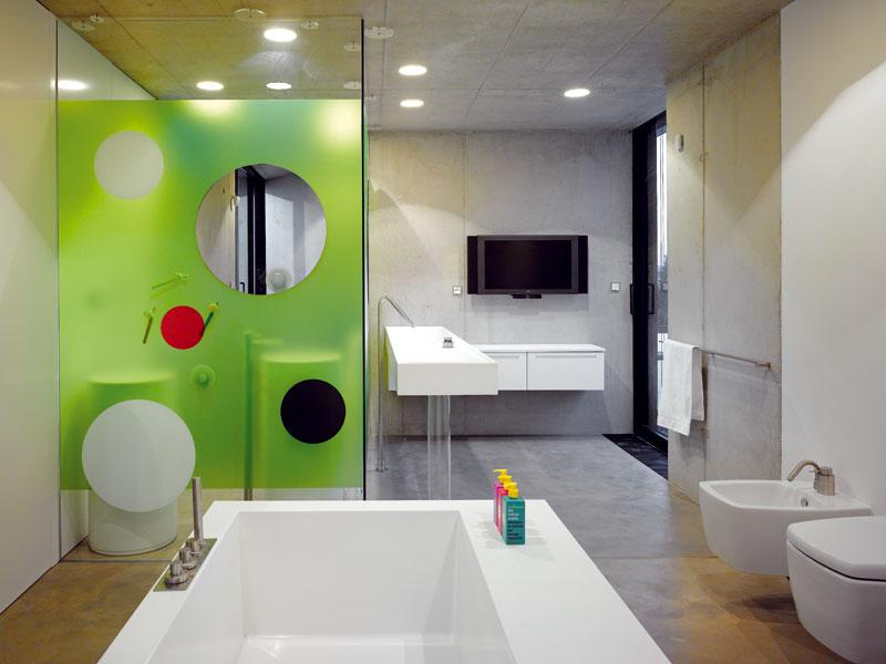 Hlavní koupelna FOTO: Filip Šlapal
