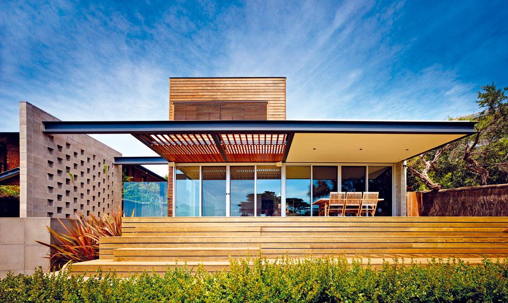 Asymetrický dům, který vyniká nádherným výhledem