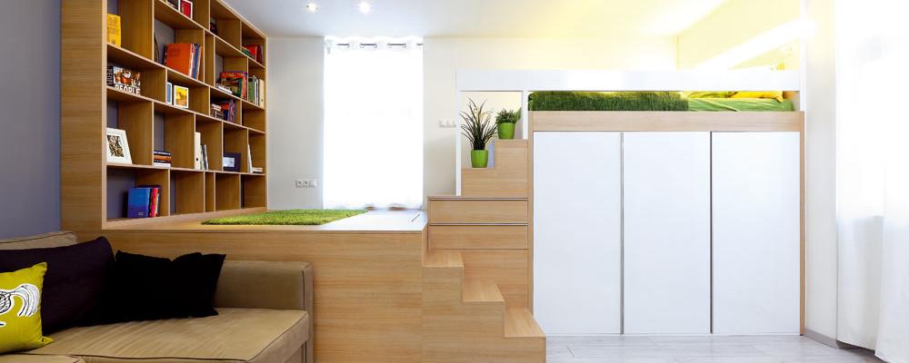 Byt s rozlohou 38 metrů čtverečních nemusí být malý