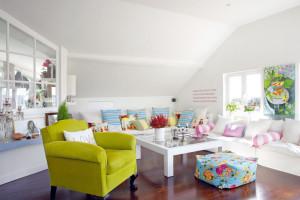 Podkrovní dvoupokojový byt plný světla