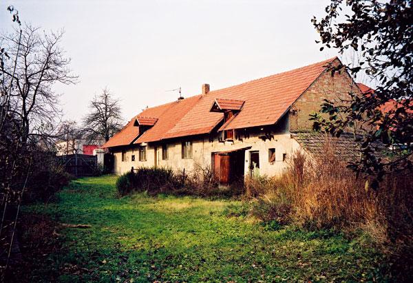 Původní stavení Foto: Ing. arch. Tomáš Bezpalec
