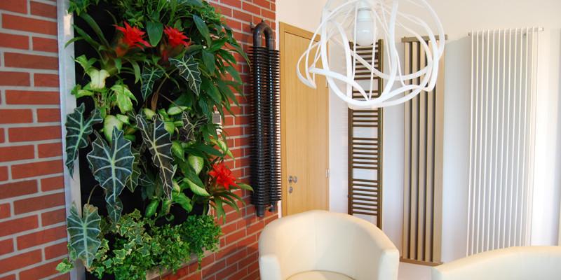 Svěží interiér pro nové Radiátorové studio