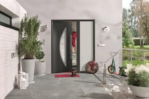 Dveře ThermoPro Plus jsou mimořádně bezpečné a šetří energii
